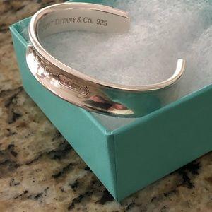 Tiffany & Co. Jewelry - Tiffany & Co 1837 sterling silver cuff bracelet